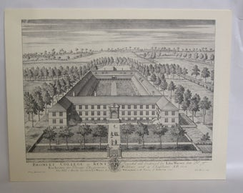 12 Prints - Vews of the London Borough of Bromley in the 18th and 19th Cent.