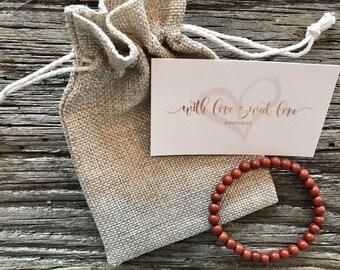 Red Jasper Healing Bracelet
