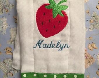 Strawberry - Burp Cloth