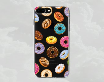 iPhone 7 case.iPhone 7 Plus case.iPhone 6s case.iPhone 6s Plus case.iPhone 6 case.iPhone 6 Plus.Soft iPhone case.Food phone case.Donuts case