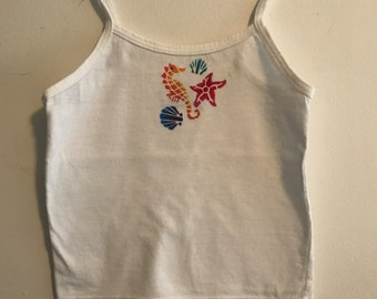 Toddler Sea Horse Tank Top