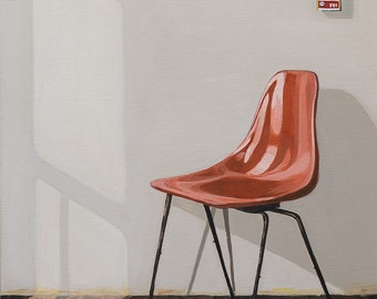 Mid century chair in the morning op. 2
