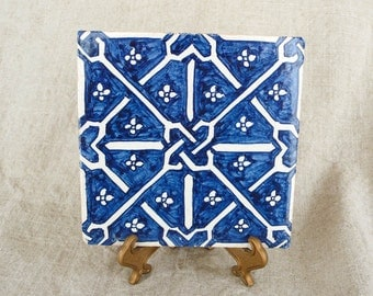 Beautiful Blue and White tile