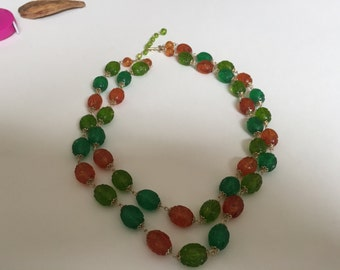 Vintage Japan Beaded Necklace