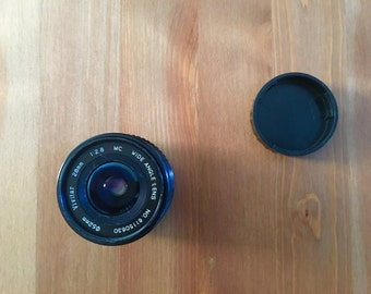 Vivitar 28mm f2.8 MC Wide Angle Prime Lens
