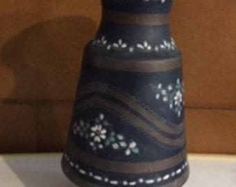 Vintage handmade copper vase