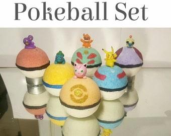 Pokemon Pokeball Set