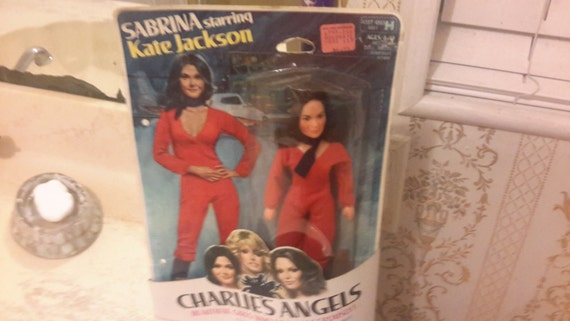 Charlies angels Sabrina Kate Jackson doll moc 1977