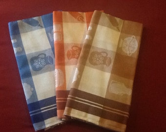 Set of 3 New Vintage Dutch Teatowels