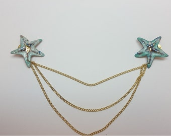 Under the sea cardigan clips