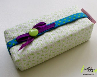 "Tissue case ""Lightgreen"" by frollein cosa"