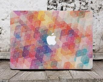 Colorful Sticker Macbook Skin Mac 13 Computer Case Vinyl Laptop Sticker Vinyl Decal Marble Macbook Skin Marble Macbook Pro Case Stickers 135