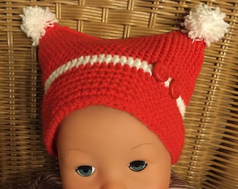 PDF crochet baby/children Hat Gr. 1 month up to 2 years