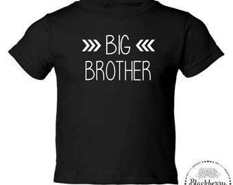 Big Brother Toddler T-Shirt, Big Brother, Toddler Boy T-Shirt, Sibling Shirt