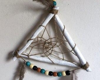 Triangle  handmade Dreamcatcher for boy