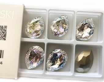 Swarovski 40mm Fancy Stone Crystal White Patina (WHIPA)