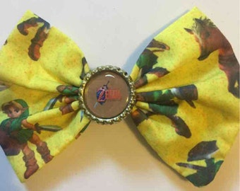 The legend of zelda hair bow
