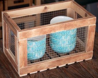 Chicken Wire Crate