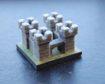 Tiny Medieval Castle - 3D Print