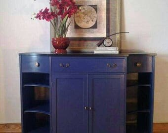 Beautiful Blue Vintage Buffet