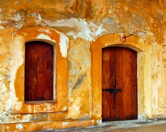 Old Fort Door and Window