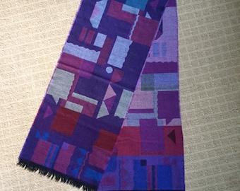 Vintage Made in German wool scarf