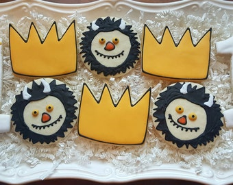 Where The Wild Things Are Cookies Party Favors