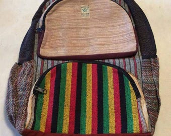 Nepal hemp backpack