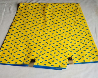 African fabrics of superior quality. 4yards