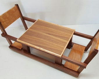 Price reduced. American girl doll picnic table/ Doll furniture