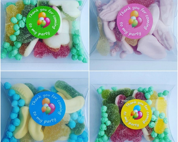 Childrens party candy favours
