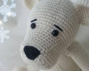 Häkelanleitung Eisbär Lillebjörn
