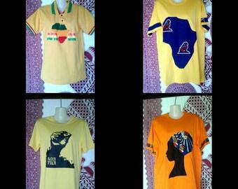 T-shirt man/boy african style