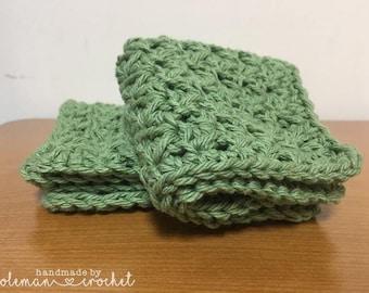 Crochet Dish Cloth, Wash Cloth, Cotton, Pattern