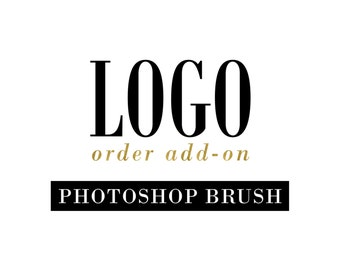 Photoshop Brush - Add On to any Premade Logo