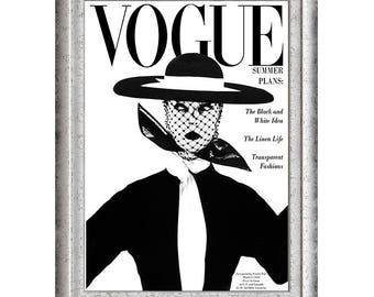 VOGUE - beautiful art print