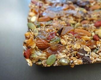 Granola - Organic Goji Cranberry Almond Superfood Raw Granola Bar