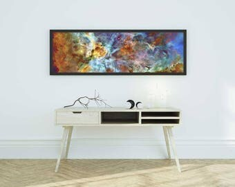 Carina Nebula WALL DECAL, NASA Space Photo, Galaxy, Outer Space, Hubble Image//Repositionable Self Adhesive