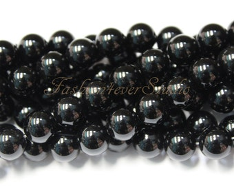 Black Onyx Beads,3mm 4mm 6mm 8mm 10mm, Full Strand 15.5 inches, Gemstone Beads, Beading Suppliers, Jewelry Suppliers