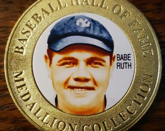 Babe Ruth Collectors Coin