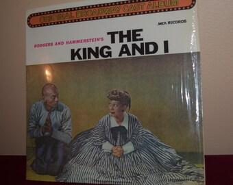 Vintage The King and I Soundtrack Vinyl Album