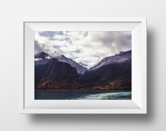 Mountain Print, Nature Print, Nature Art, Nature Photography, Mountain Art, Lake Art,Lake Photography, Art Print, Instant Download Art