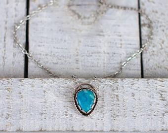 Nacozari turquoise necklace // RTS