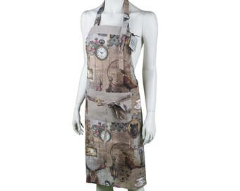 Hirsch vintage apron