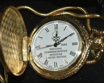 National Commemorative John F. Kennedy Pocket Watch