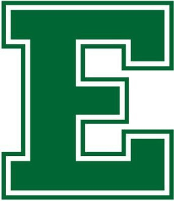Vinyl Decal Sticker -  Eastern Michigan Eagles Decal for Windows, Cars, Laptops, Macbook, Yeti, Coolers, Mugs etc