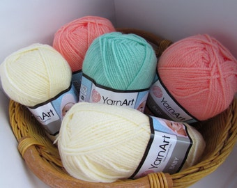 Baby YARN ART -   Children acrylic- 50g 150m turkish yarn