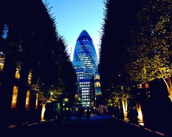 London photography, London street photography, The gherkin, fine art photography, London monument, London prints, Wall Art, London Photos