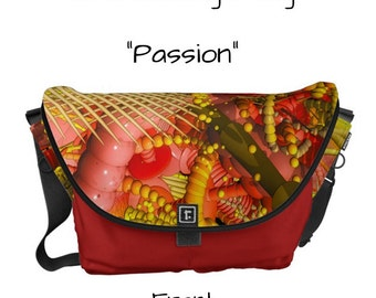 "Messenger Bag - ""Passion"" - Great gift item!"