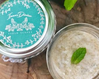 Energizing and Invigorating Mint Sugar Scrub